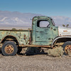 An old abandoned truck at the Ballarat ghost town just outside Death Valley National Park.  This truck is rumored to have been used by Charles Manson and his gang.