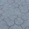 The dry desert floor at the Racetrack Playa in Death Valley National Park