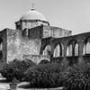 Interesting architecture at Mission San Jose, San Antonio, Texas