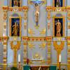 The altar at Mission San Jose, Antonio, Texas