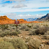 Scenic vista, near the Old Arrowhead Trail; Valley of Fire State Park, Nevada