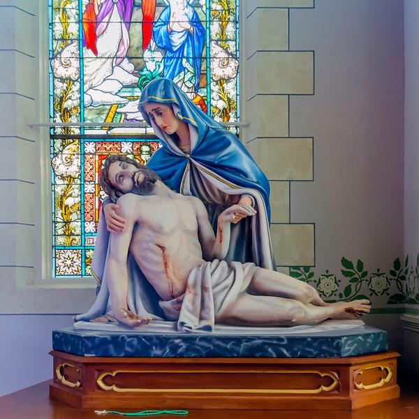 St. Mary's Catholic Church Plantersville, Texas