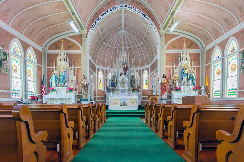 St. John the Baptist Church<br /> Ammansville, Texas