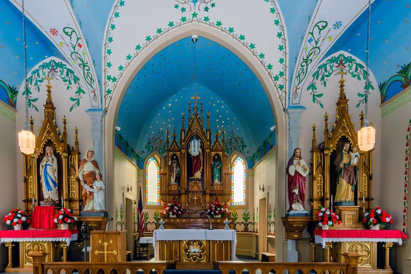Saints Cyril and Methodius Catholic Church in Dubina, Texas