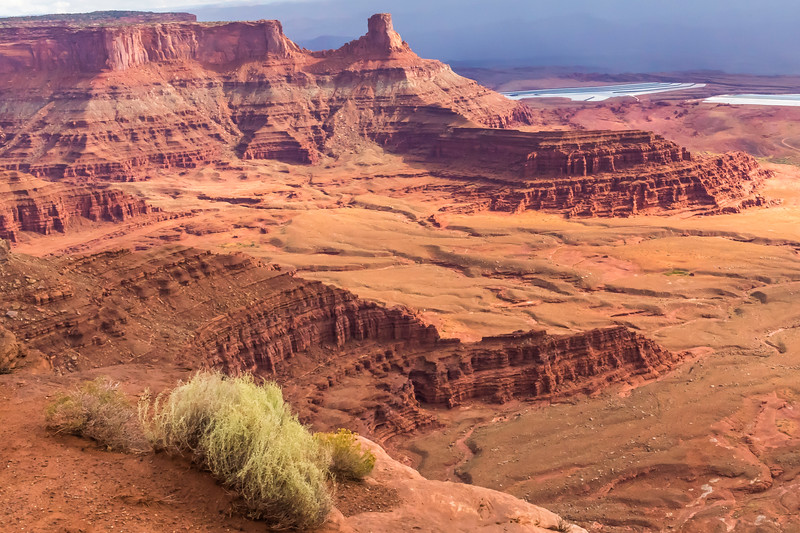 This image is looking in the opposite direction from the first two.  Here, you can get an idea of the ruggedness of the canyon and its majestic beauty.