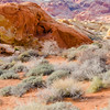 "The ""Mouses Tank"" at the Valley of Fire State Park, Nevada."