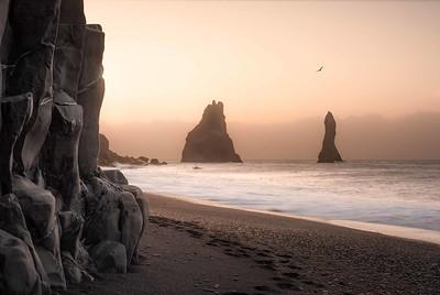 Reynisfjara Beach Black Sand