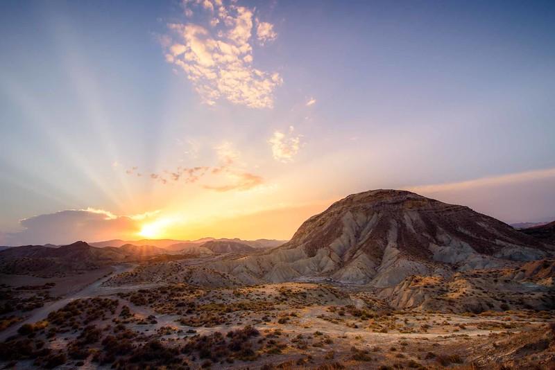 Roads to the desert - Tabernas (Almería) Spain