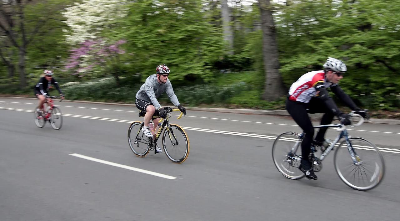 Central Park Bikers