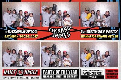 Fernandos 1st bday