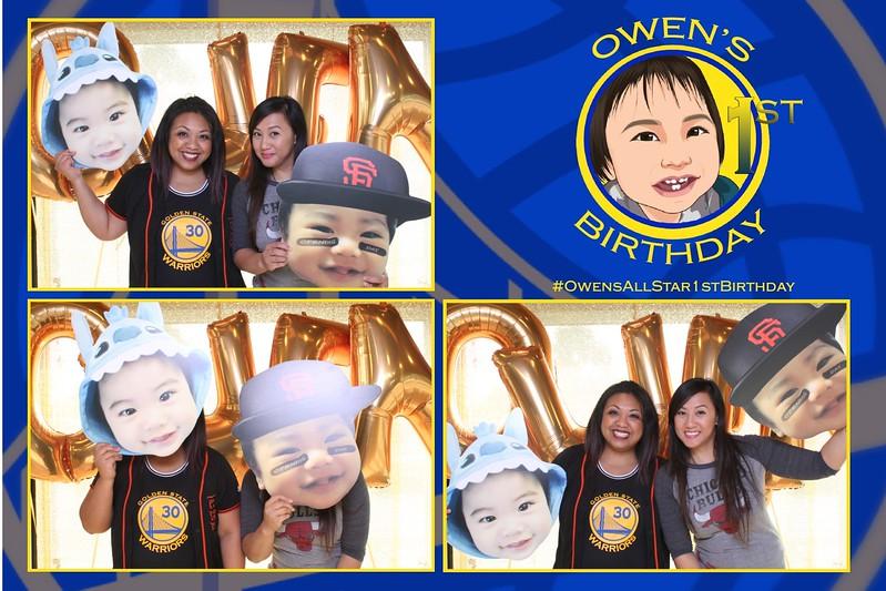 Owen 1st bday
