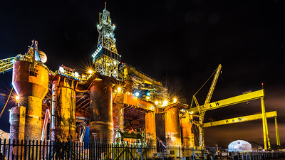 The Blackford Dolphin Oil Rig 3