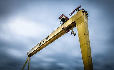 Goliath, of the Harland & Wolff Shipyard, Belfast, Northern Ireland