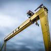 Goliath, of the Harland & Wolff Shipyard, Belfast, Northern Ireland