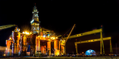 The Blackford Dolphin Oil Rig 2