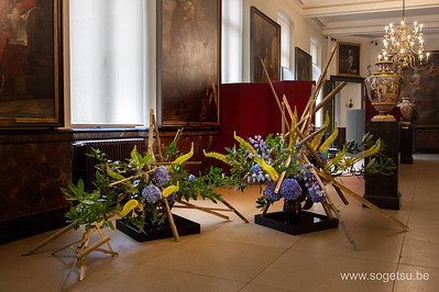 Sogetsu Ikebana - CIty Hall Brussels