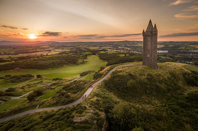 Sunset Over Scrabo