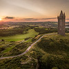 Scrabo Tower, Newtownards, at sunset