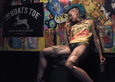 Some recent work with @hettiecakes in a promo shot for @goatstoebangor   Follow me to see my latest work  Check out my portfolio online at  www.peterbennettphotography.com  #tattooedgirls #girlswithtattoos #inkedgirls #girlswithink #tattoo #tattoos #ink #inked #inkedup  #alternative #alternativegirls #altmodel #makeup #photoshoot #mua #mohawk #bluehair #fit #inkeandfit