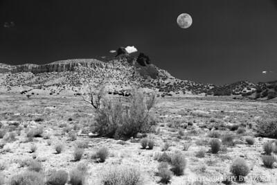 New Mexico Volcano Peaks