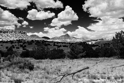 Sandstones Mountains In New Mexico