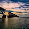 The Seven Bridge Mile In Silhouette