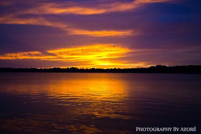 Sunset, Mt Dora, Florida