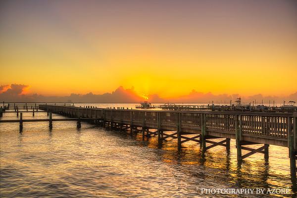 ~Long Exposure~ Sunrise In Titusvile Florida