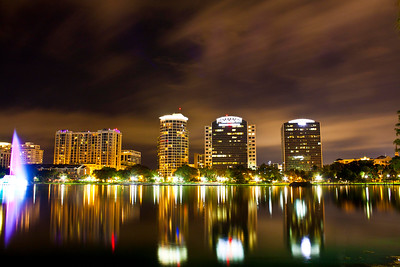 Lake Eola, Orlando, Florida