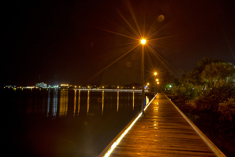 Night Light Trails