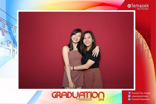 Temasek Polytechnic Graduation Photobooth 2018