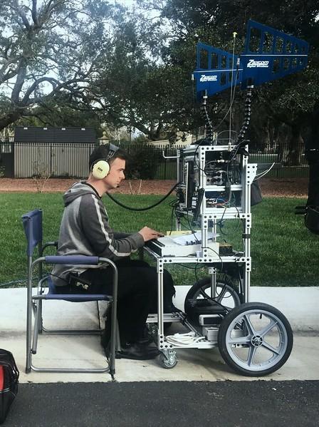 Brian Kaurich - working full cart