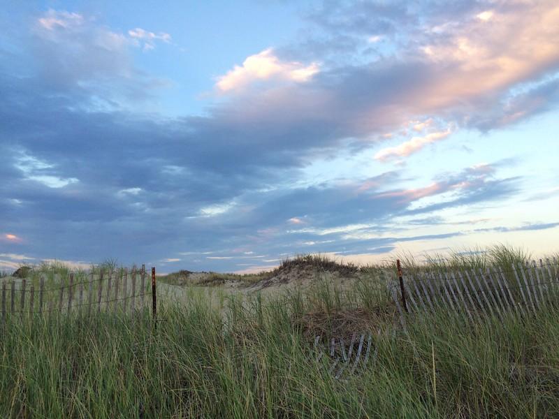 Light on the dunes