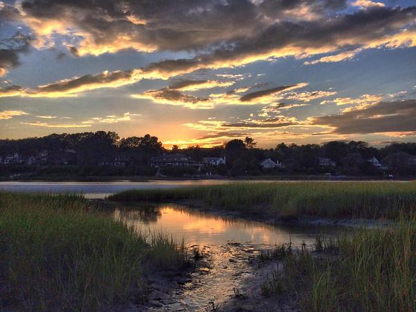 Light on the marsh