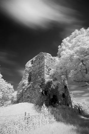 Craigneil Castle, Study 2, Ayrshire, Scotland. 2017