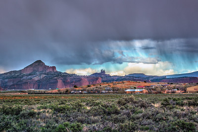 Virga Visits the Red Rocks