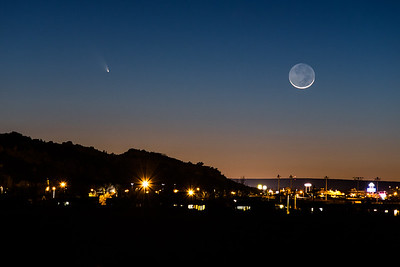 Comet PAN-Starrs Over Gallup, NM