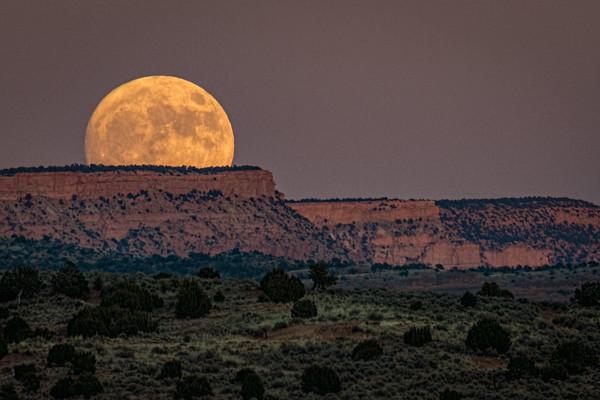 The Super Moon Rises 11/13/16