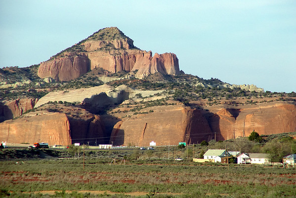 Vintage Shot, Rehoboth, NM and Red Rocks