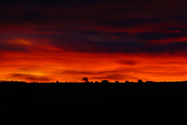 Sundance Road Sunrise, E. Gallup, NM
