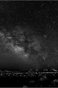 Milky Way Over the Hogsback, Gallup, NM