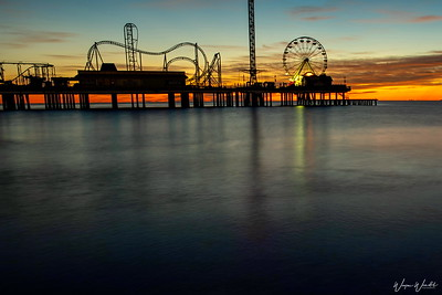 Pleasure Pier in Galveston