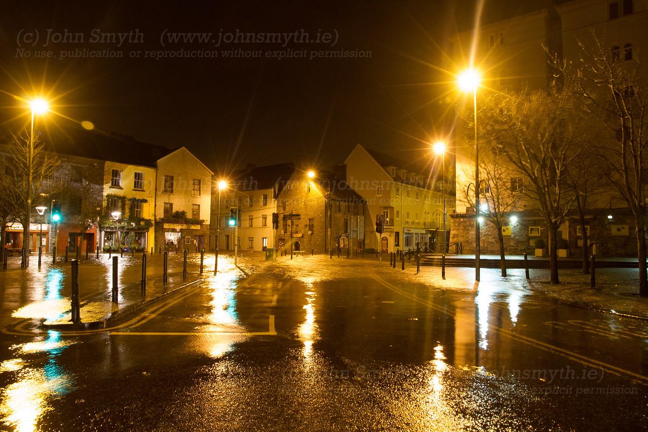 Flooding on Flood Street