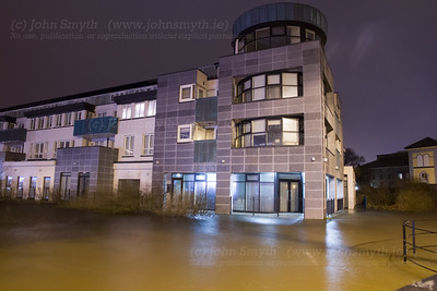 Galway Canal Flooding
