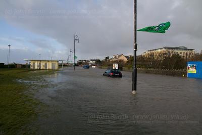 Salthill Promenade Flooded