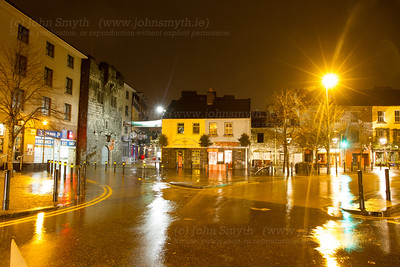 Flooding in Galway City Centre
