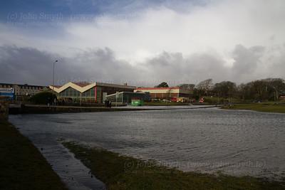 Salthill Park flooded