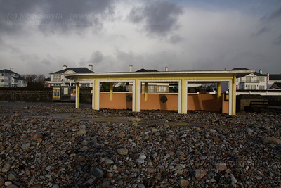 Debris on Salthill Promenade