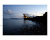 Just after sundown at the Blackrock diving board in Salthill.