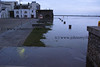 Flooding at Spanish Arch, Galway this morning (6.50am) .